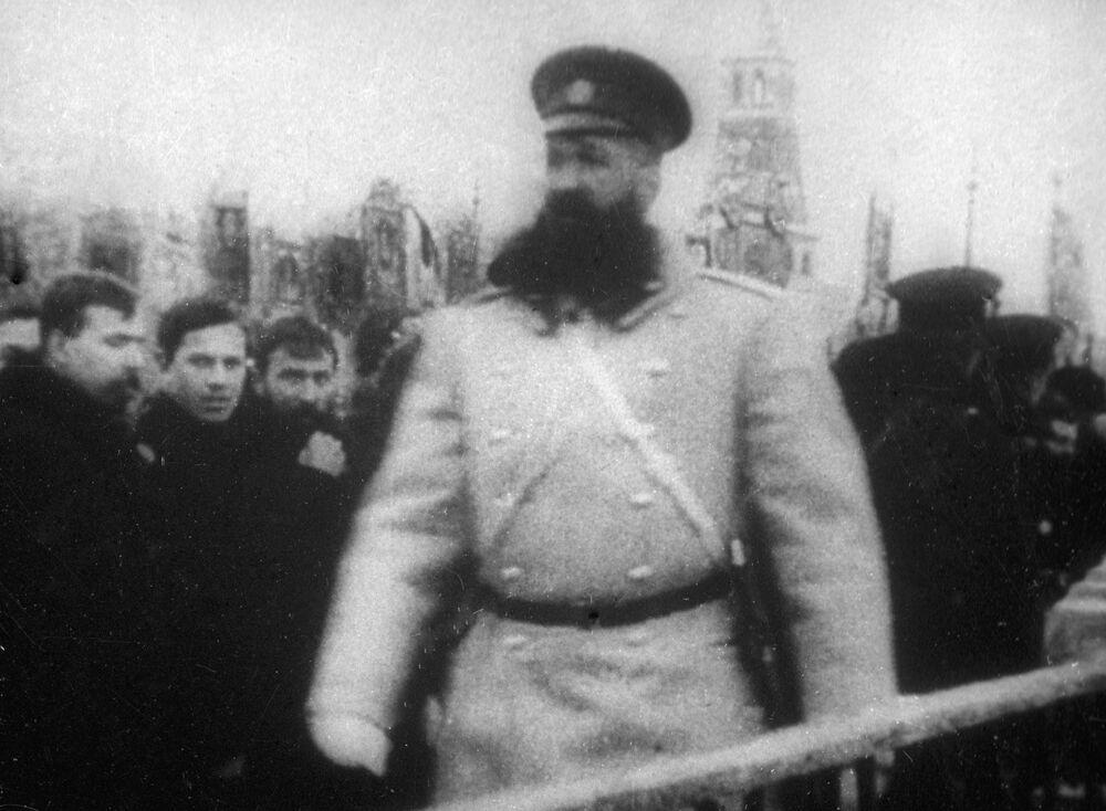 شرطي، موسكو عام 1913