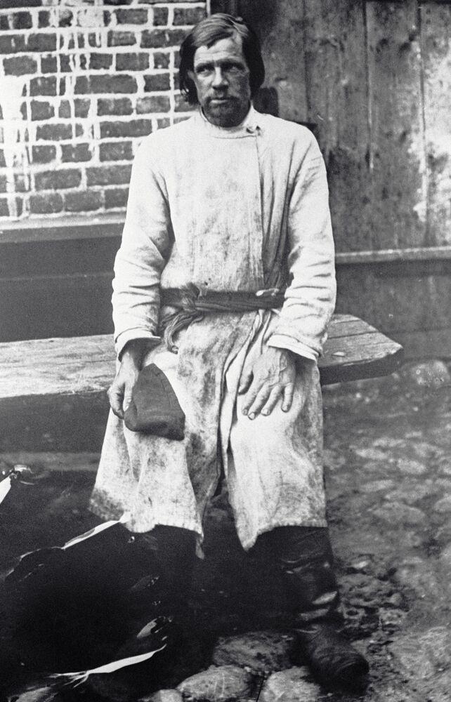 موظف يومي، موسكو عام 1913