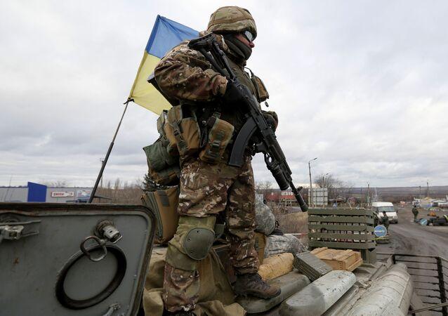 جندي أوكراني