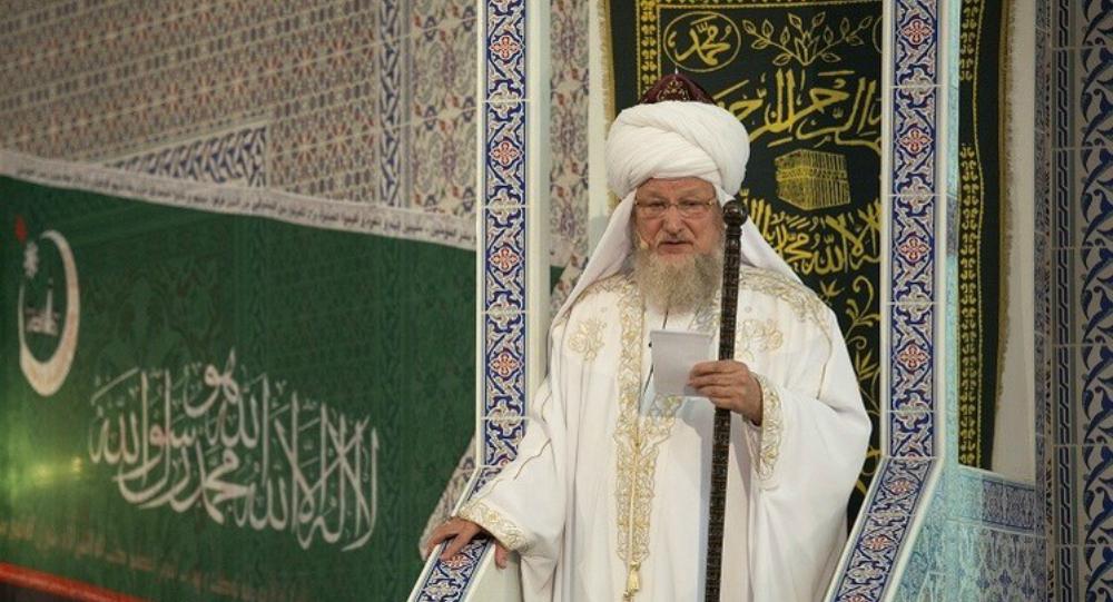 المفتي الأكبر الروسي طلعت تاج الدين