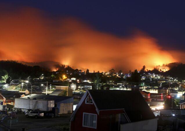حريق صورة أرشيفية