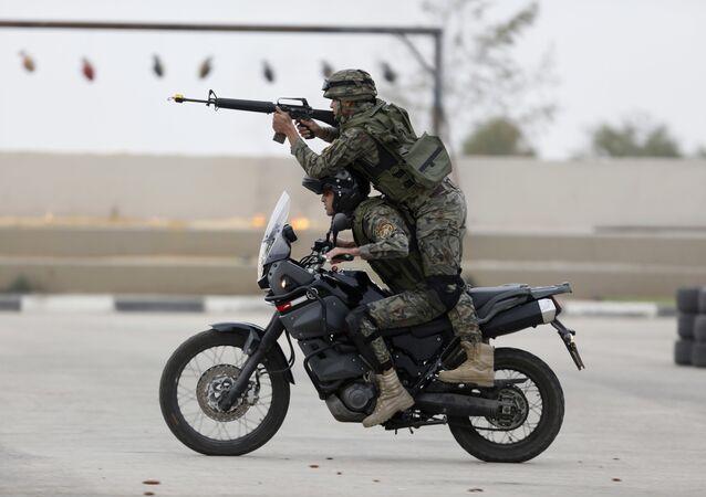 عناصر قوات الأمن الفلسطيني