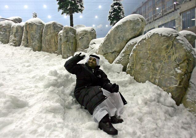 الثلج في الإمارات