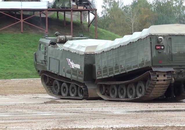 تجربة أحدث المعدات الحربية الروسية في منطقة القطب الشمالي