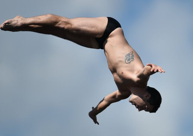 FINA World Championships 2015. Men's High Diving. 27m. Preliminary