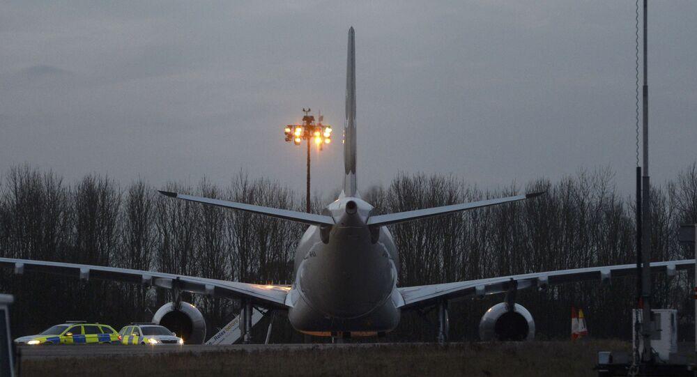 الطائرة التابعة للخطوط الجوية الباكستانية