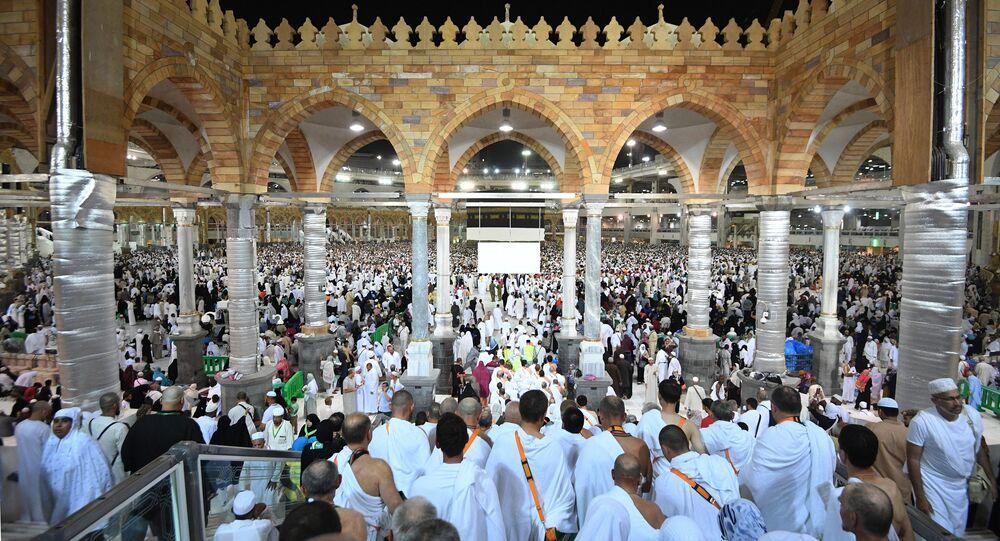 الحجاج في مكة