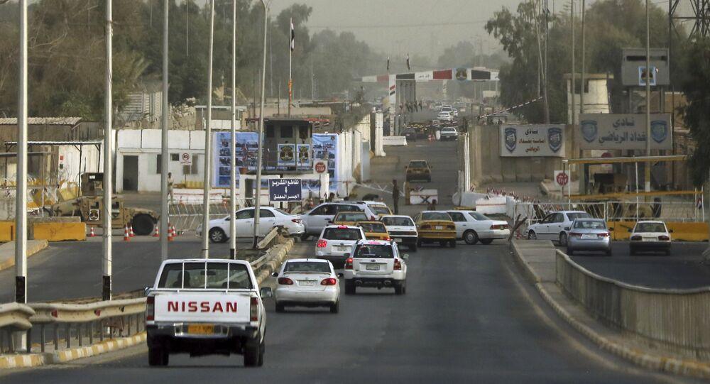 المنطقة الخضراء في بغداد