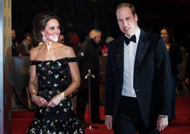 الأمير ويليام وكيت ميدلتون في حفل جوائز البافتا
