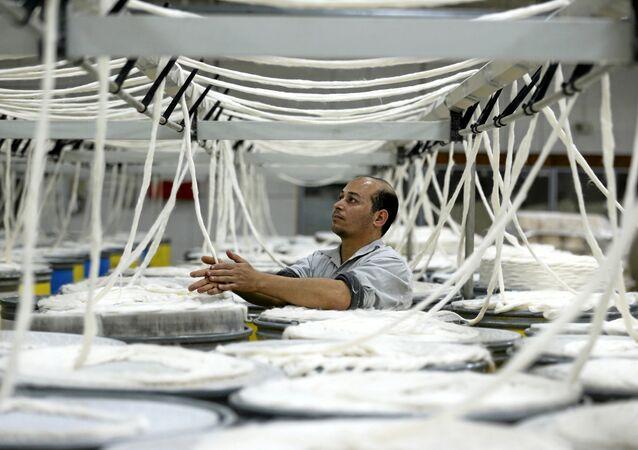 صناعة النسيج في مصر