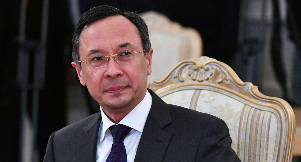 وزير الخارجية الكازاخستاني، خيرت عبد الرحمنوف