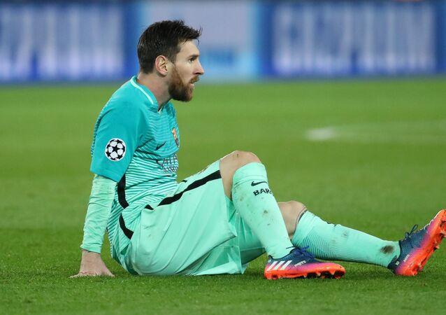 لاعب برشلونة ليونيل ميسي