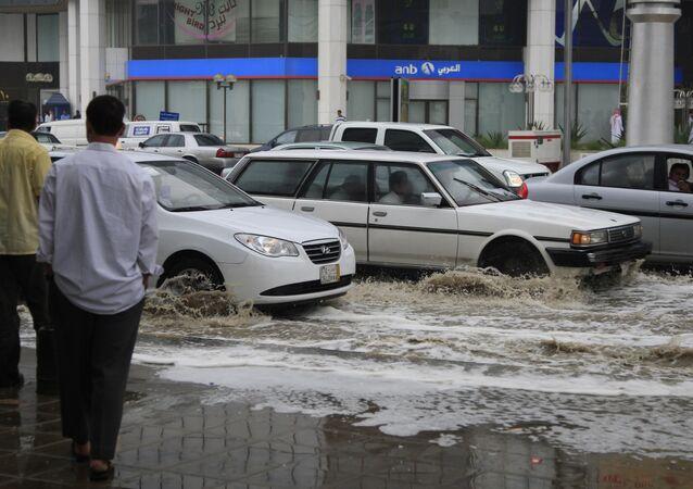 الأمطار في السعودية