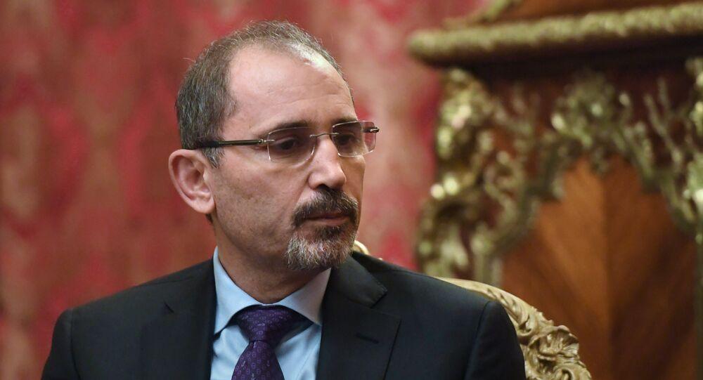 أيمن الصفدي وزير الخارجية الأردني