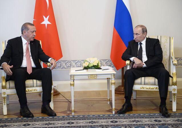 الرئيس الروسي مع الرئيس التركي