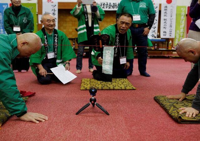 الصلع في اليابان