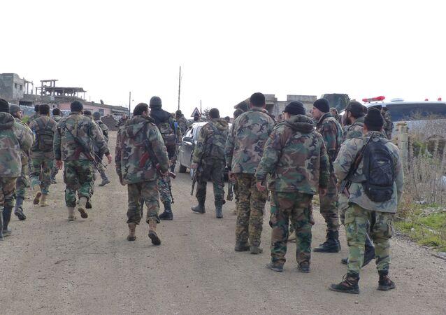 الجيش السوري يسيطر على درعا