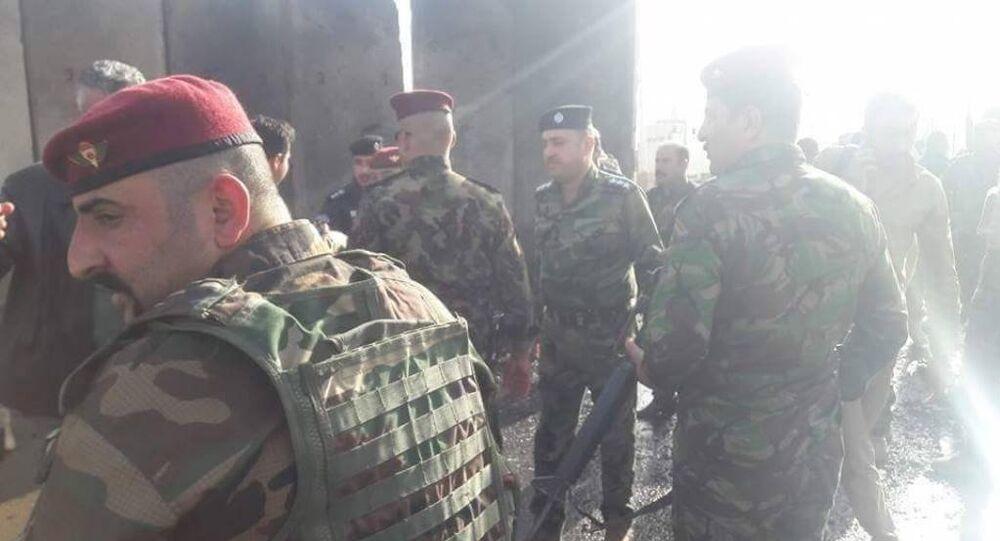 تفجير غرب العراق