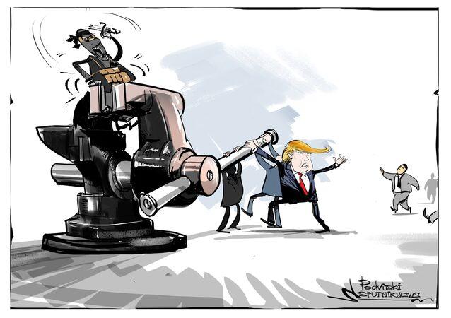 ترامب: سنعمل مع حلفائنا المسلمين لمحو داعش من على كوكب الأرض