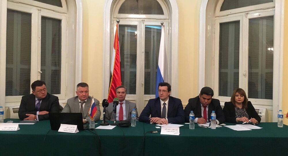 وفد روسي يبحث إقامة منطقة صناعية في مصر