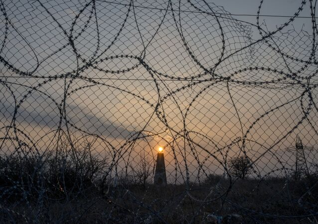 الحدود التي تفصل بين مقدونيا واليونان