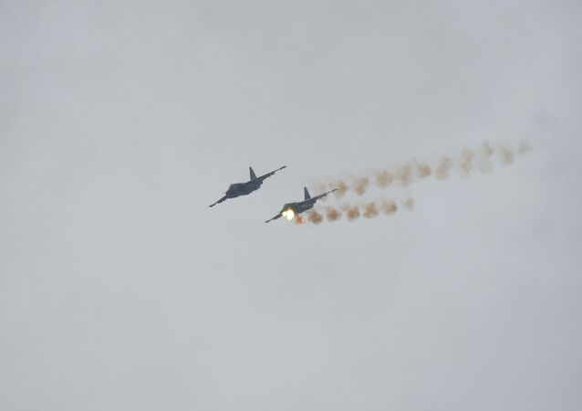 طائرتان روسيتان من طراز سو-25