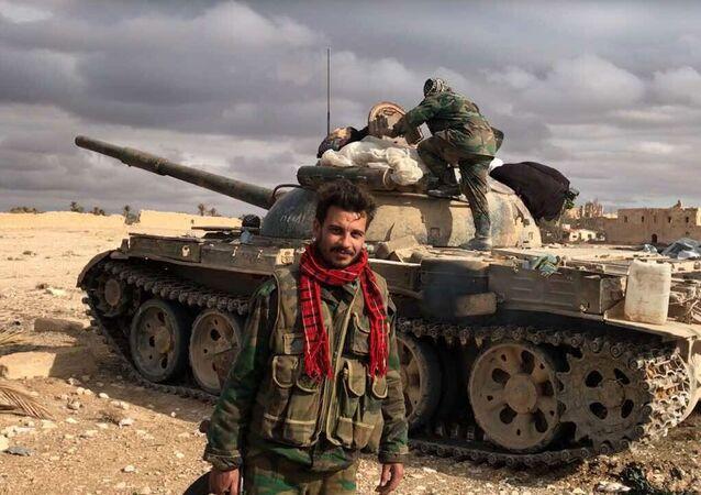 تحرير تدمر من قبل الجيش السوري وبمساندة القوات الجوية الروسية