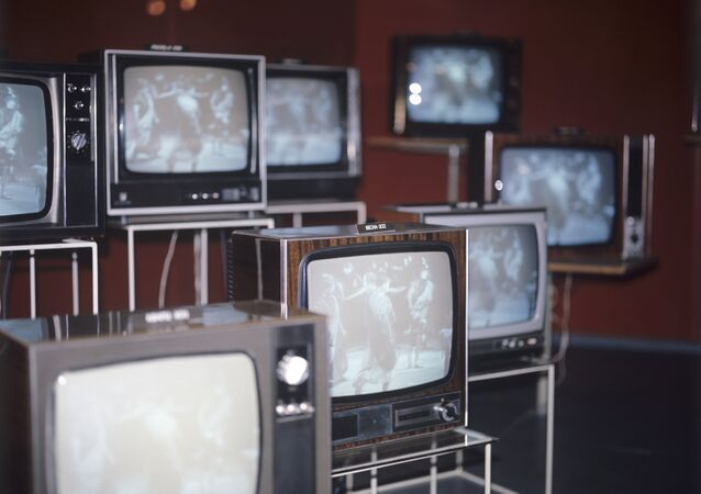 TV sets exhibition