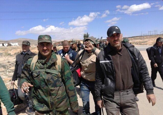 حماسة قوات الاحتياط كالنار في الهشيم سوريا الجيش السوري