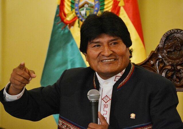 الرئيس البوليفي