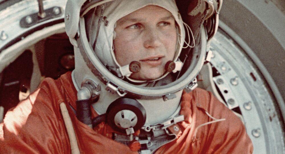رائدة فضاء فالنتينا تيريشكوفا