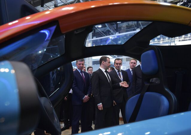 دميتري ميدفيديف رئيس الحكومة الروسية