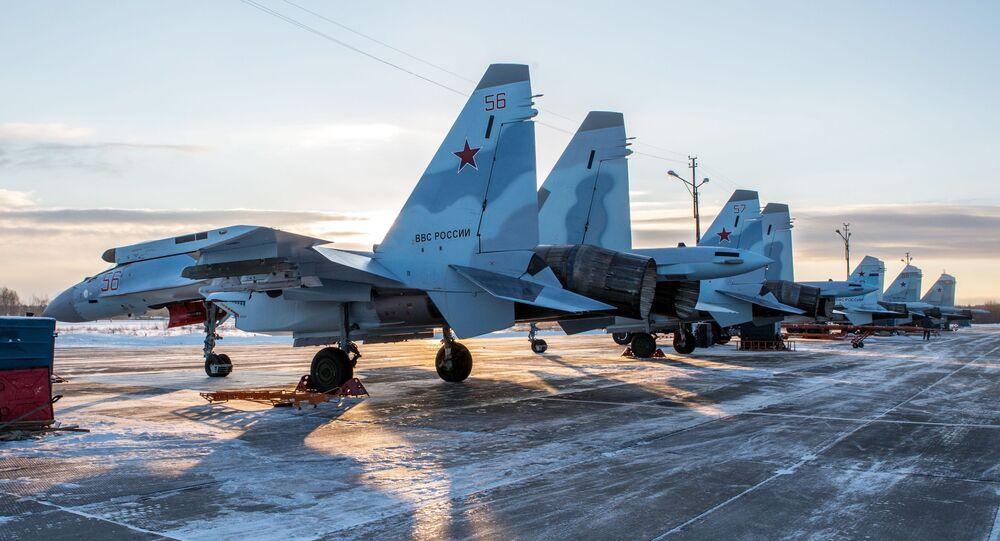 مقاتلات سو-35إس