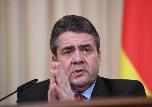 وزير الخارجية الألماني سيغمار غابريال