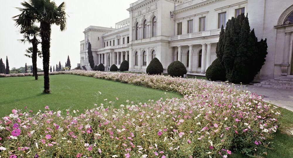 قصر  ملكي روسي بشبه جزيرة القرم