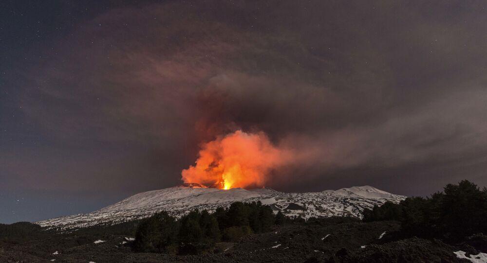 بركان إتنا