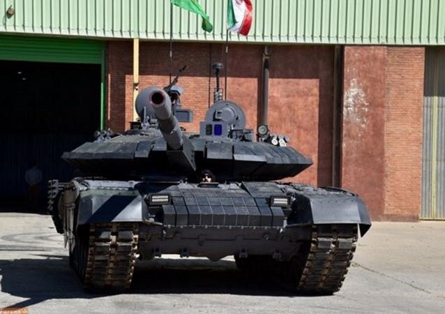 الدبابة الإيرانية كرار