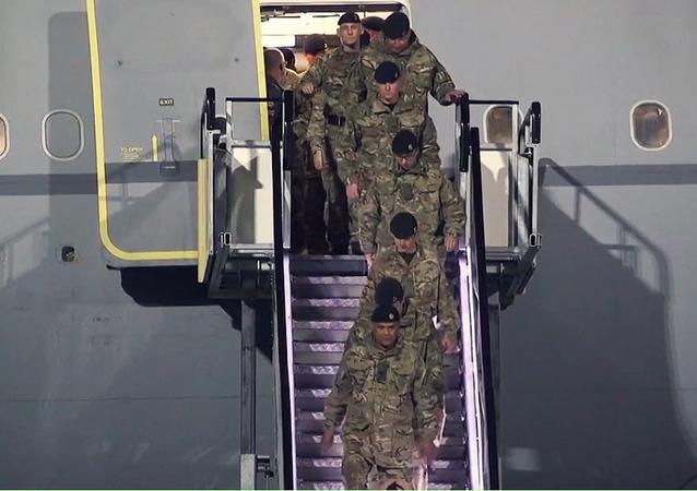 وصول أكبر كتيبة من القوات الأجنبية لحلف الناتو إلى إستونيا