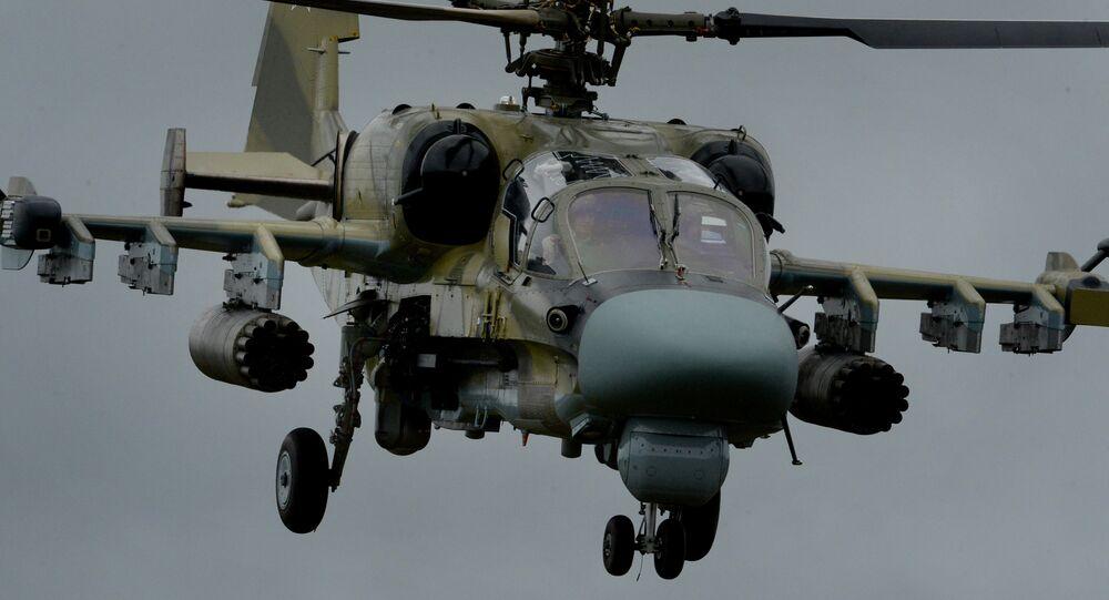 الأسلحة الروسية: مروحية كا - 52