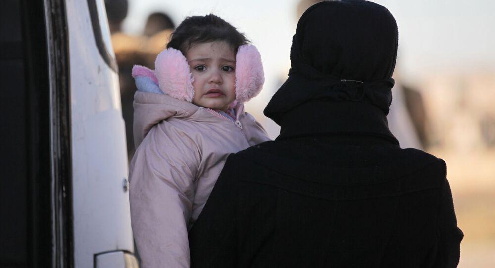 إخلاء السملحين السوريين وعائلاتهم من حمص، سوريا 19 مارس/ آذار 2017