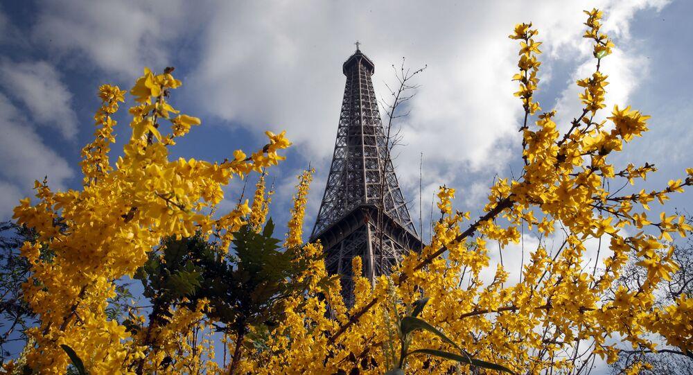 الربيع في باريس، فرنسا 14 مارس/ آذار 2017