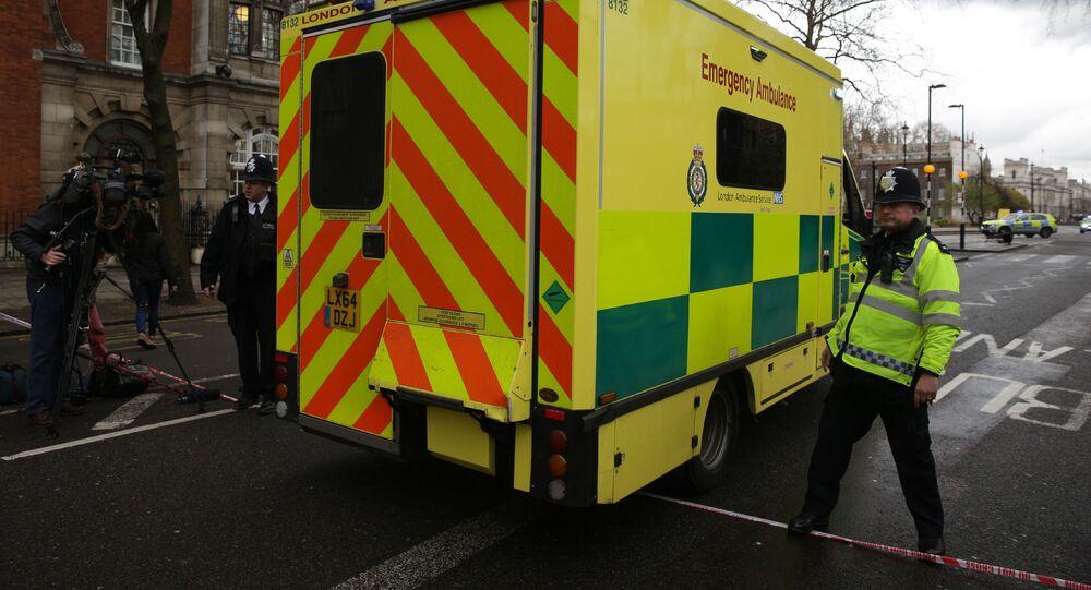 حادثة اطلاق نار في لندن