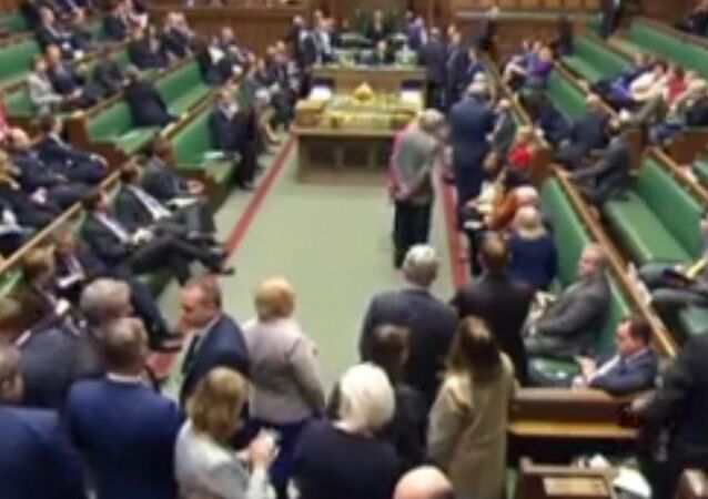 رد فعل نواب البرلمان البريطانى لحظة إطلاق النار