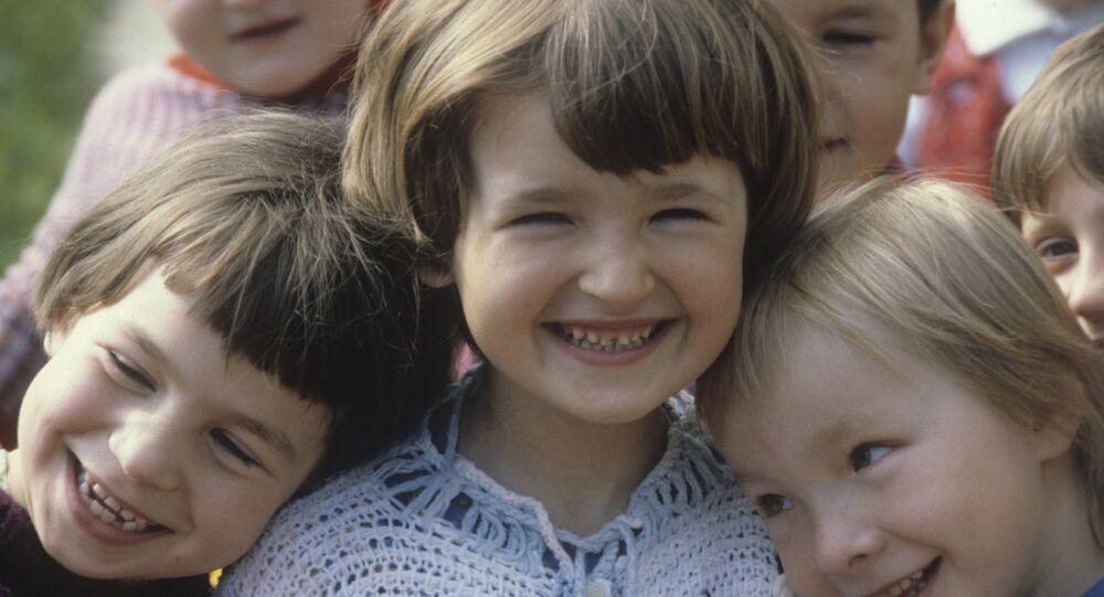 ابتسامة أطفال