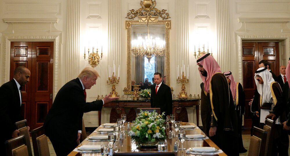 بن سلمان في البيت الأبيض