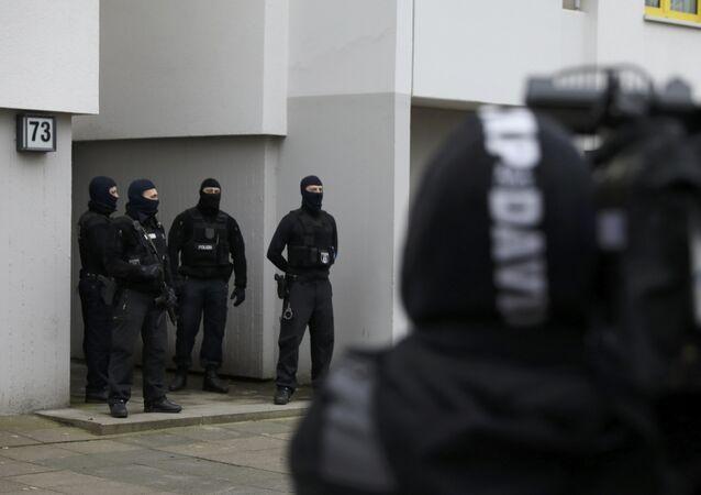قوات خاصة من الشرطة الألمانية
