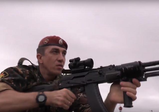 قوات الحرس الوطني الروسي في ذكرى تأسيسها