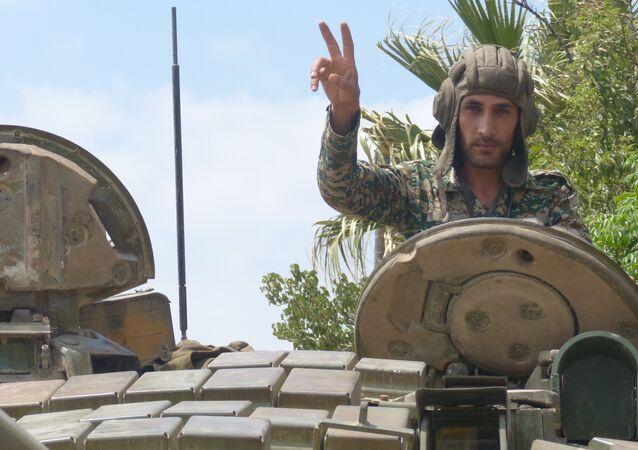 الجيش السوري ينجح في تحطيم أحلام  مسلحي جوبر