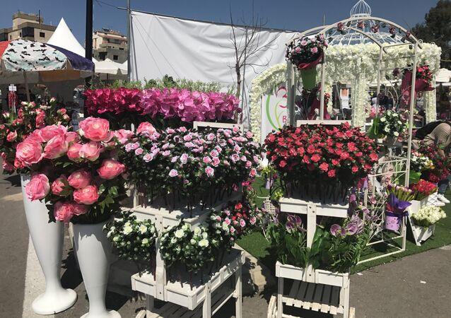مهرجان الزهور في لبنان