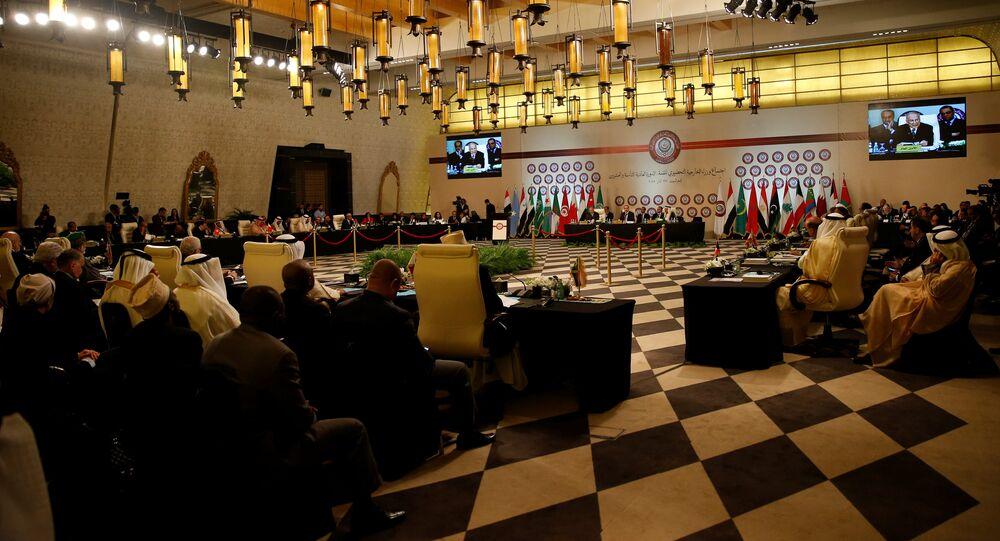 اجتماع وزراء الخارجية العرب في الأردن